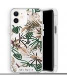Zarya Fashion Extra Beschermende Backcover voor de iPhone 12 Mini - Jungle Leaves