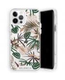 Zarya Fashion Extra Beschermende Backcover voor de iPhone 12 (Pro) - Jungle Leaves