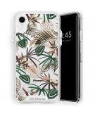 Zarya Fashion Extra Beschermende Backcover voor de iPhone Xr - Jungle Leaves
