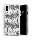 Zarya Fashion Extra Beschermende Backcover voor de iPhone Xs / X - Palmtree