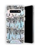 Zarya Fashion Extra Beschermende Backcover voor de Samsung Galaxy S10 - Palmtree