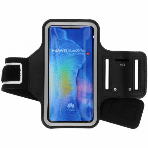 Zwarte sportarmband voor de Huawei Mate 20 Pro