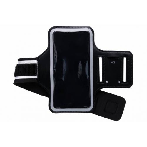 Zwarte sportarmband voor de iPhone Xs Max