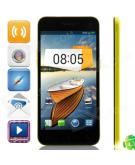 M Pai M Pai 809T MTK6582 Quad-core Android 4.3 WCDMA Bar Phone w/ 5.0