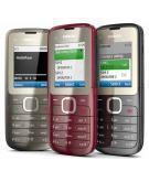 Nokia C2-00 (Dual Sim) Jet Black