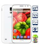 Jiake JIAKE G900W Android 4.2 3G Phablet with 5.0 inch WVGA Screen MTK6582 1.3GHz Quad Core 4GB ROM GPS Dual Cameras 4GB