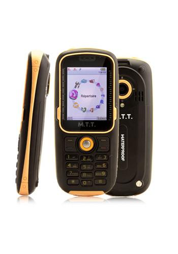 M.T.T. MTT Waterproof IP57 Yellow/ Black