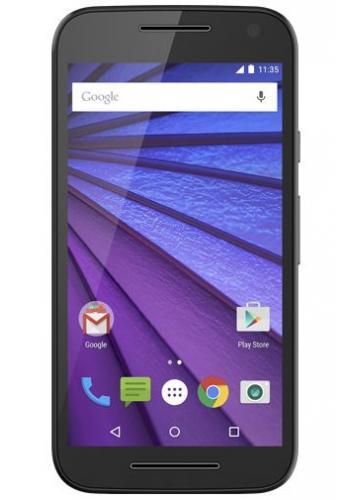MOTOROLA 5 inch LTE smartphone 1.4 GHz Quad Core Zwart Zwart Zwart