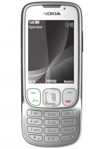 Nokia 6303i Classic White Silver